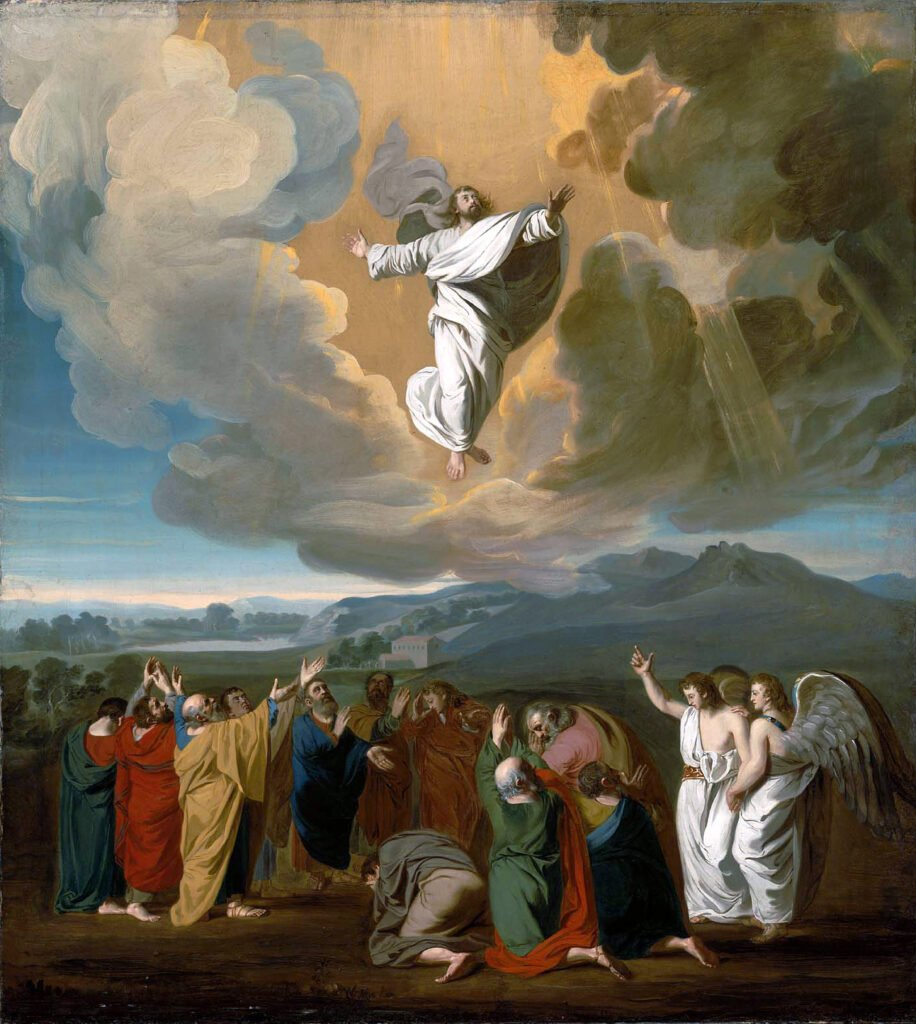 Promise Of The Spirit, Jesus ascending to heaven
