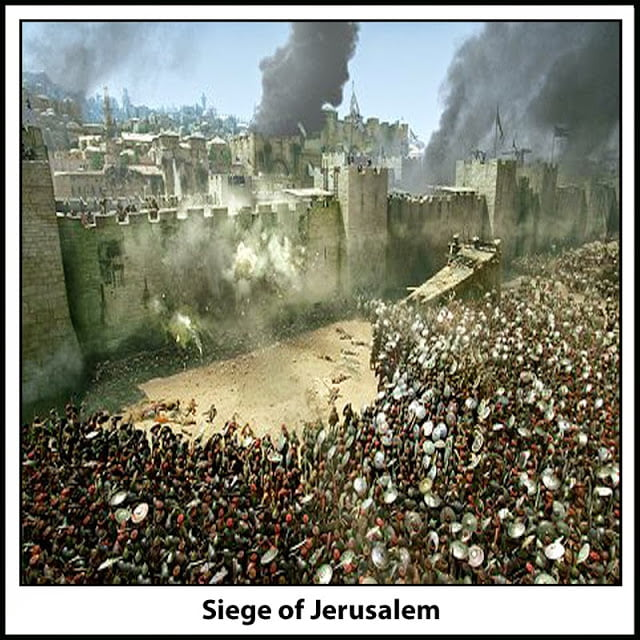 636 A.D. Siege of Jerusalem
