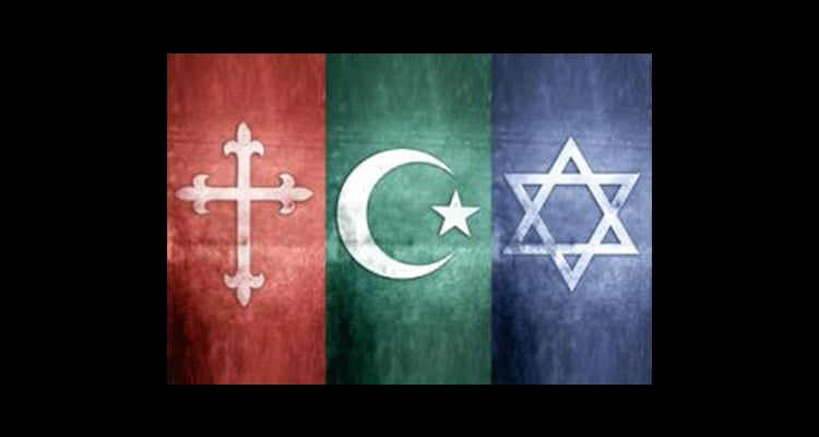 Symbols of the Abrahamic Religions